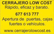 Cerrajero Low Cost en Vigo